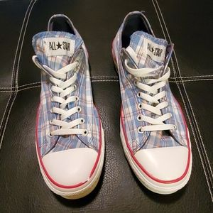 Converse All⭐Star plaid sneakers